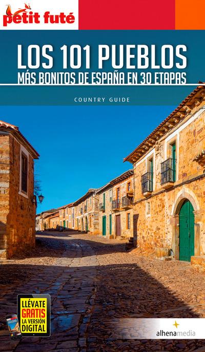Libro '101 pueblos más bonitos de España en 3 etapas'