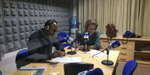 Armando Nsué y María José Núñez, directores de RETO 16 CIMAS RADIO