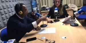 Armando Nsué y María José Núñez, entrevistando a Juan Diego Simón, quien nos habló de salir de la zona de confort