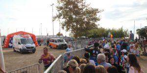 Ambulancias en eventos deportivos
