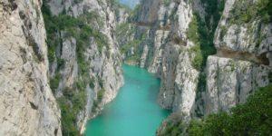 El desfiladero de Mont-Rebei